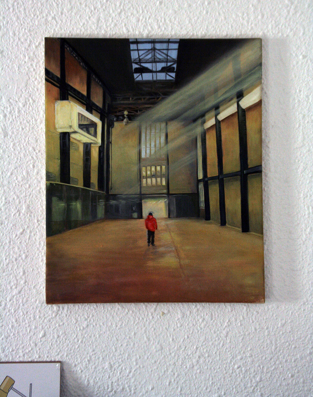 Tate Modern. Oils on canvas 2014